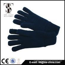 High Quality Knit fibra acrílica Full Touch luvas