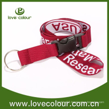 Free sample custom key lace lanyard for business