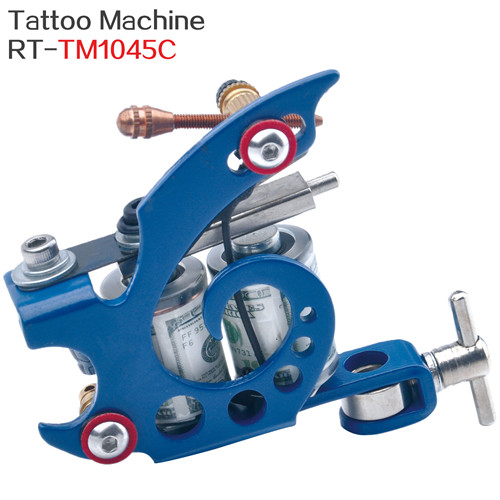 8 machines à tatouer en spirale