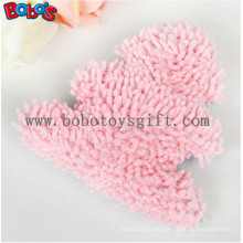 Rellenos de peluche de color rosa árbol de juguete de animales de compañía con Squeaker BOSW1078 / 15CM