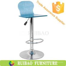 Taburete de bar acrílico de barra giratoria de muebles de China Proveedor de taburete de bar de China