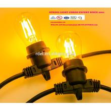 Сл-49 силовых кабелей се гнезда IP44 светодиодные строки свет лампы держатель шнура питания