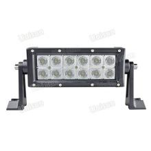 Barra de luz de trabajo auxiliar CREE LED 12V de 7.5 pulgadas y 36W