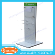wholesale metal cellphone accessories display rack fixture for cellphone store