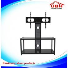 Marco de acero con cable de gestión Roating TV Stand