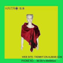 Écharpe en soie à la mode rouge