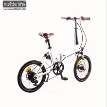 Bicicleta eléctrica Morden Design 36V350W mini pocket chopper con precio bajo, 20 '' ebike plegable