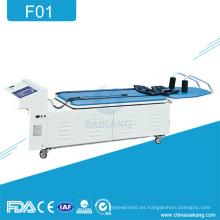 F01 Mesa de rehabilitación de tracción lumbar multifunción lumbar