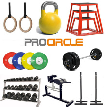 Fitness Equipment Gym Rings Kettlebell Barbell