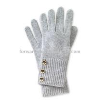 guantes de cachemira