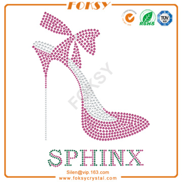 Hot Sale for High Heel Rhinestone Transfer High Heel Sphinx customized rhinestone transfer export to South Africa Factories