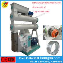 Ring die feed pellet mill machine