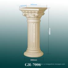 Дизайн интерьера современной полиуретановой колонки 2015
