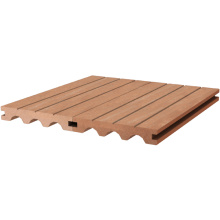 Composite decking for outdoor decoration