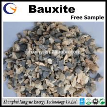 fabricant de porcelaine de minerai de bauxite calciné AL2O3 75% -90% / minerai de bauxite