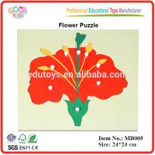 Montessori Botanik Puzzle - Blume