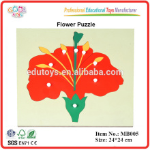 Montessori Botany Puzzle - Flor