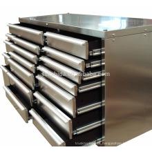 """72 """"Caja de herramientas / cofre / gabinete de acero inoxidable para trabajo pesado"""