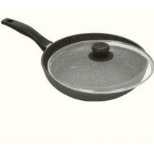 "Marmor Nonstick Stone Kochgeschirr 11 ""Fry Pan mit Deckel"