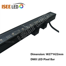 DMX led rgbw aluminum bar waterproof