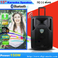 Bluetooth Wireless Portable Speaker with Revoving Lights Horn