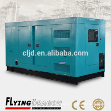 300kw closed diesel power generator 375kva electrical silent generator for sale