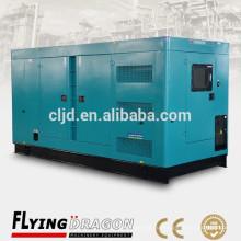 300kw закрытый дизель генератор 375kva электрический тихий генератор для продажи