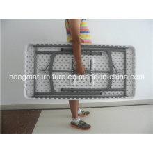 4FT Складной прямоугольный складной стол для наружного использования