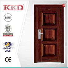 2015 New Steel Main Door Design KKD-355 For Apartment Exterior Door
