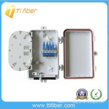 Boîte de distribution à fibre optique à 4 cœurs / câble extérieur Boîte étanche à petite jonction