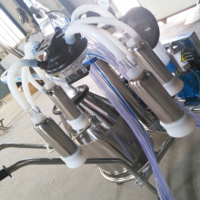 304 stainless steel buckets Mobile milking machine