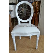 Cadeira de jantar de madeira de estilo francês de venda quente