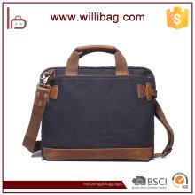 Vintage Messenger Bag Laptoptasche Business Aktentasche für Mann