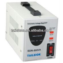 Régulateur de tension entièrement automatique SDR500VA 220V SDR