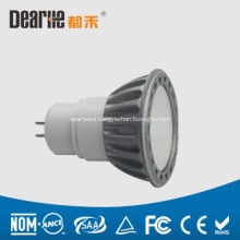 6W LED GU10 mini spotlight,Anti-glare,500lm Aluminum cup,Ra80 2700-6300K
