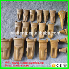 factory price excavator bucket teeth tips types bucket tooth point adapter