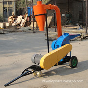 Mobile Wheels Rice husk crusher for Biofuel purpose(9FQ-36)