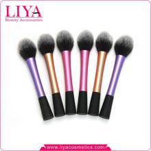 Professional Top Qualität synthetische Haar einzelne Runde Puder Make-up Pinsel