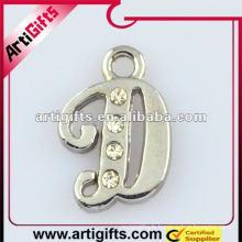 lettre d pendentif bijoux