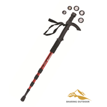 Best quality and factory for China Manufacturer of Alpenstock Trekking,Alpenstock Hiking Poles,Alpenstock Trekking Poles,Foldable Alpenstock Walking stick with LED Flashlight export to Australia Suppliers