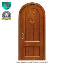 Massivholztür im klassischen Stil für Außen mit Carving (ds-036)