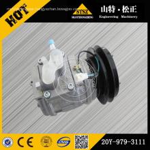 Komatsu excavator PC44/55mr-3 AC COMPRESSOR 22L-979-2200
