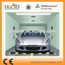 Одиночный входной автомобильный лифт с тяговой машиной