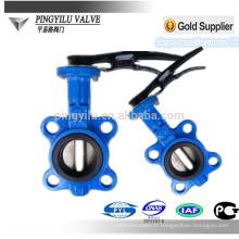 Fonte ou acier coulé ou valve en acier inoxydable papillon pn10
