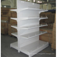 Durable Quality Double Sided Supermarket Shelf for Sale