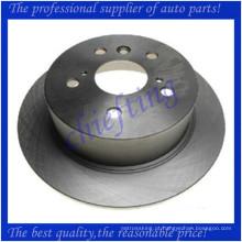 MDC2545 DF6176 42431-33130 rotores de freio de alta qualidade para lexus es350