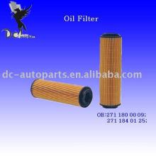 Elemento de filtro de lubricante 271 180 00 09 para Mercedes-Benz