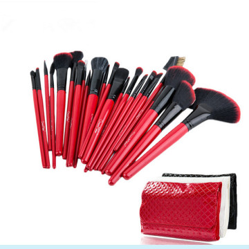 Professional 24 PCS Sombra Lip Makeup Brushes Set para o Natal