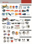 Boan Motorcycle Parts--Gxt200, Bajaj Other Parts