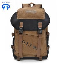Объемные мужские сумки мужские ретро рюкзак